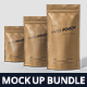 Paper Pouch Bag Mockup Bundle - GraphicRiver Item for Sale
