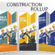 Construction Rollup Banners Template Design - GraphicRiver Item for Sale