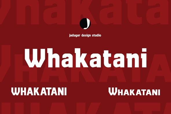Whakatani - Sans-Serif Fonts