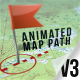 Animated Map Path v.3 - VideoHive Item for Sale