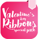 Ribbons Special Velentine's Day - GraphicRiver Item for Sale