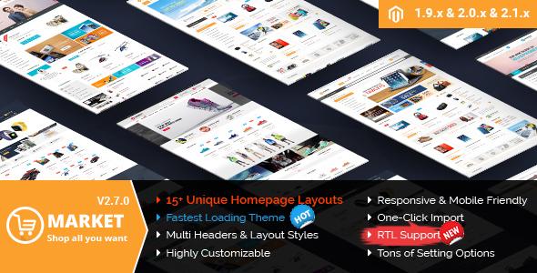 Market – Premium Responsive Magento 2 and 1.9 Store Theme