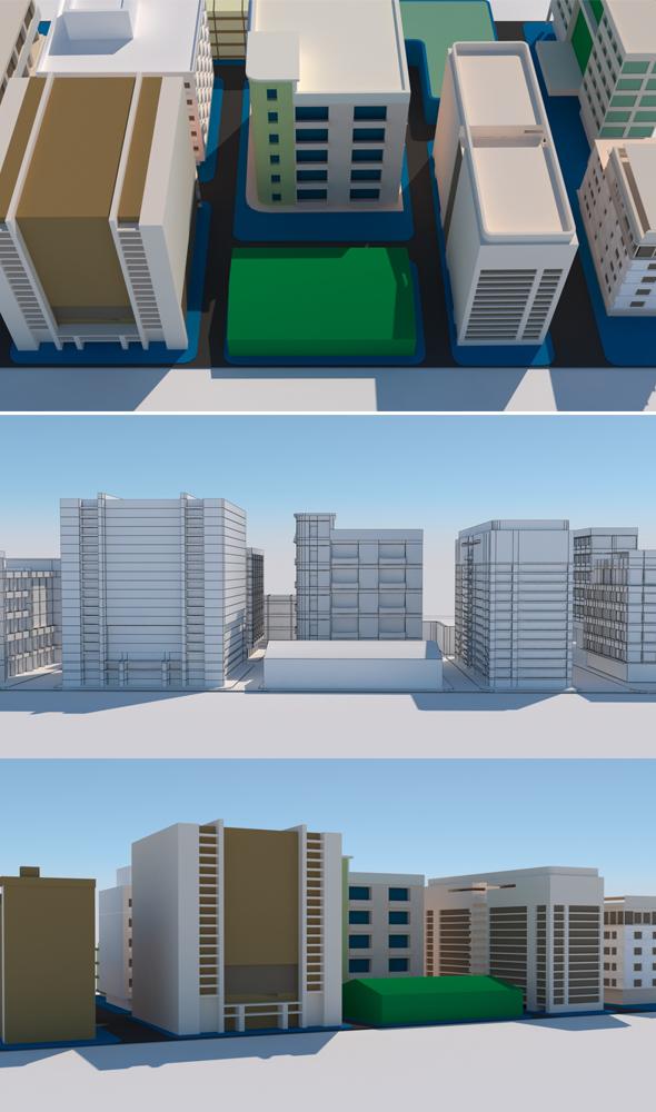 City Blog 2 - 3DOcean Item for Sale