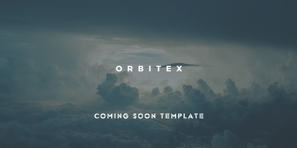 Orbitex - Concept Responsive Coming Soon Template - Under Construction Specialty Pages