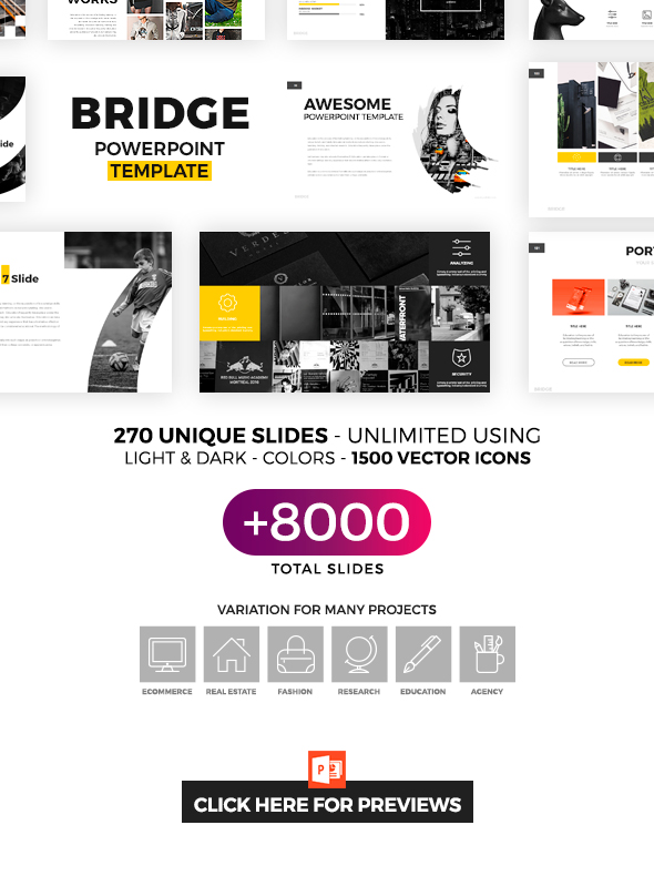 Bridge powerpoint template by hemalaya1 graphicriver bridge powerpoint template wajeb Gallery