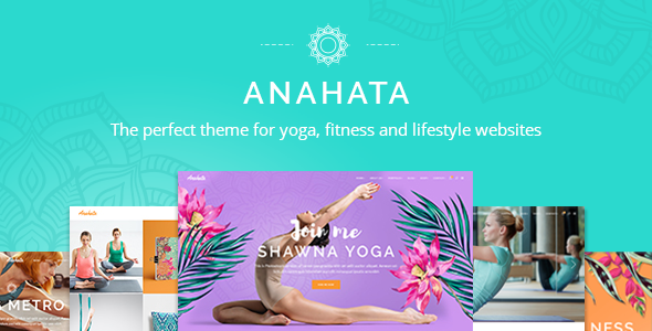 Anahata - Yoga, Fitness and Lifestyle Theme