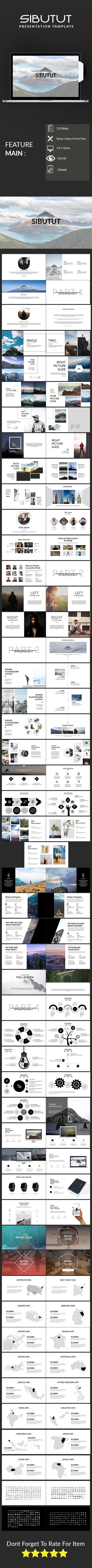Sibutut Multipurpose Template - PowerPoint Templates Presentation Templates