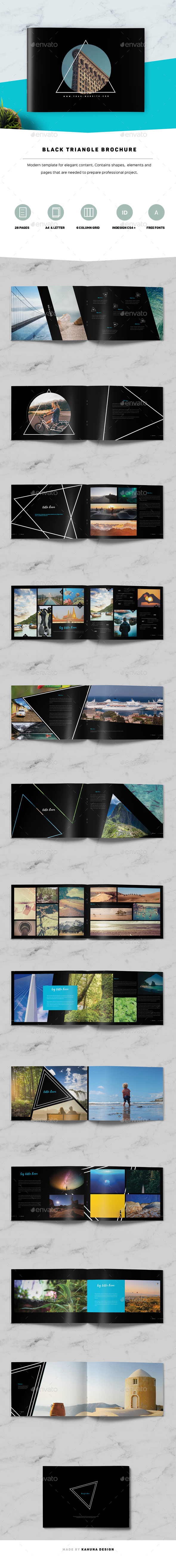 Black Triangle Brochure - Portfolio Brochures