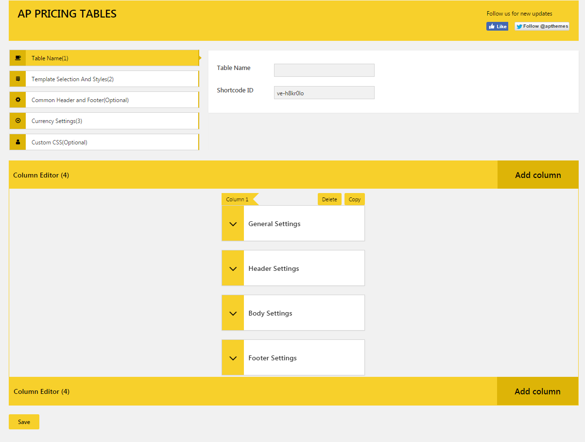 Ap pricing tables responsive pricing table builder for Table th responsive