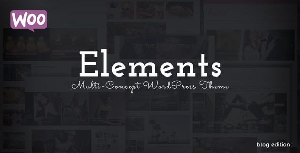 Elements – Blog. Mag. Shop.