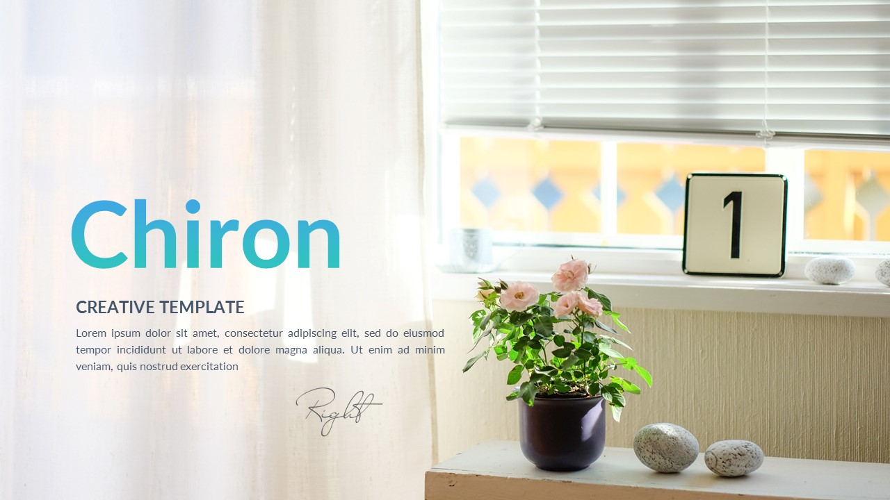 Chiron - Creative Powerpoint Template