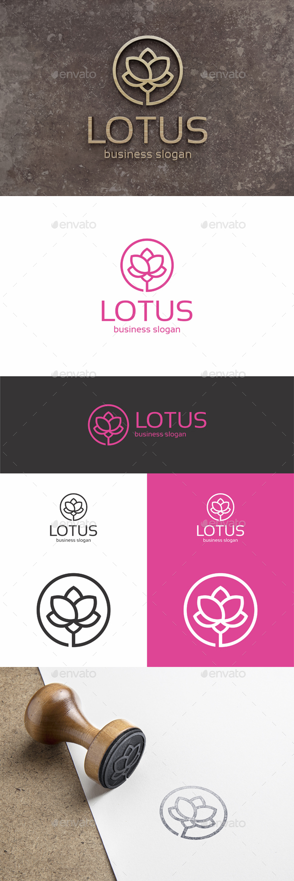 Lotus - Nature Logo Templates