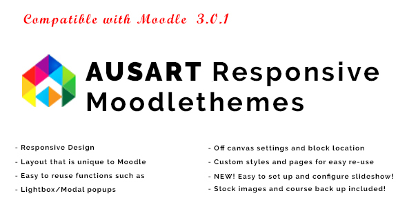 Ausart – Responsive Moodle Theme