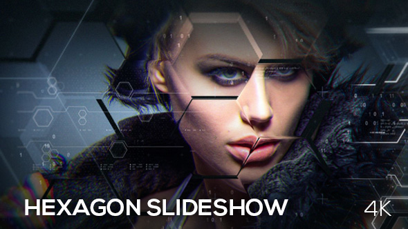 hexagon slideshowneurostudio | videohive, Presentation templates