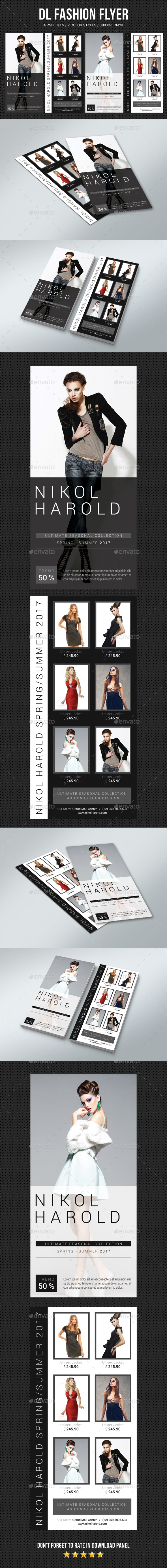 DL Fashion Flyer - Commerce Flyers