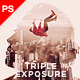 Triple Exposure Photoshop Action - GraphicRiver Item for Sale