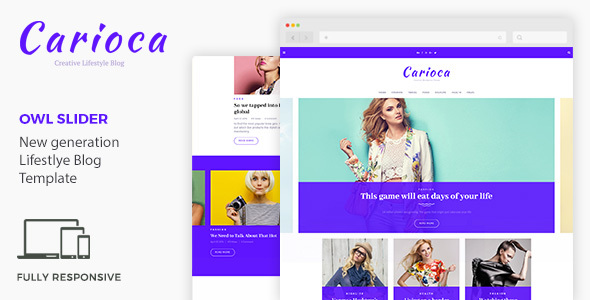 Carioca | Multipurpose Blog Template