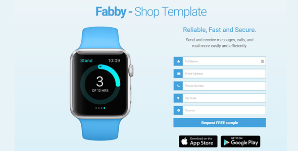 Fabby – One Product Shop Template