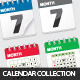 Calendar Collection - GraphicRiver Item for Sale