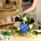 Creating a Bouquet From Start To Finish  Video, Girl Florist Makes a Festive Bouquet, Lots o