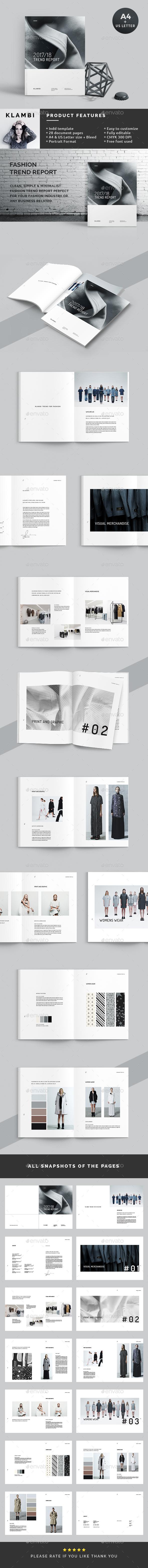 Trend Report - Informational Brochures