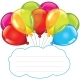 Colorful Balloons with Copy Space for Text - GraphicRiver Item for Sale