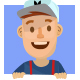 Deliveryman Cartoon Mascot - GraphicRiver Item for Sale
