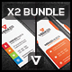 Business Card Bundle 24 - Vertical - GraphicRiver Item for Sale