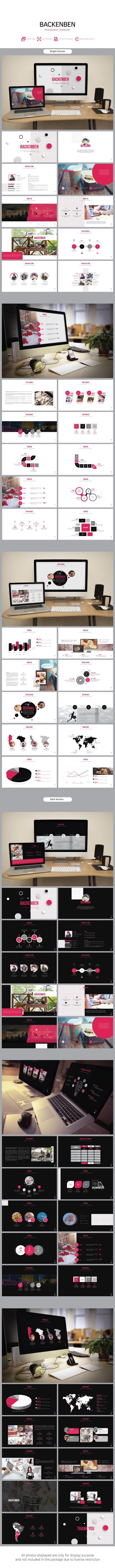 Backenben Presentation Powerpoint - PowerPoint Templates Presentation Templates