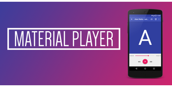 Material Music Player - CodeCanyon Item for Sale