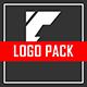 Minimalism Glitch Logo 2