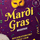 Mardi Gras Masquerade Flyer - GraphicRiver Item for Sale