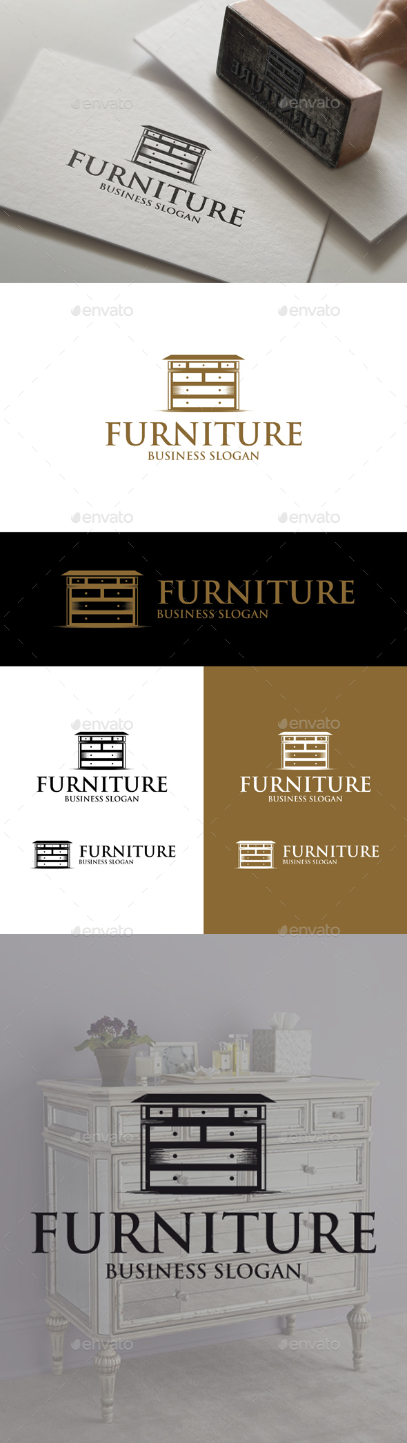 Furniture Logo - Objects Logo Templates