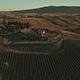 Aerial Drone Footage of Vineyards and Countryside - VideoHive Item for Sale