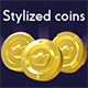 Stylized Coin Pack - GraphicRiver Item for Sale
