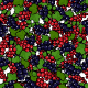 Seamless Redcurrant and Blackcurrant Pattern - GraphicRiver Item for Sale