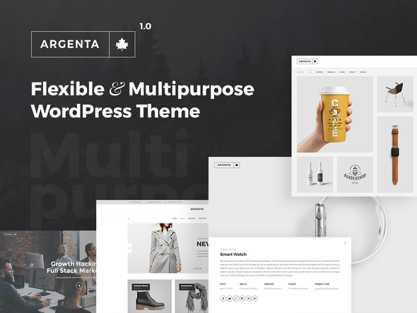 Argenta – Multipurpose WordPress Theme