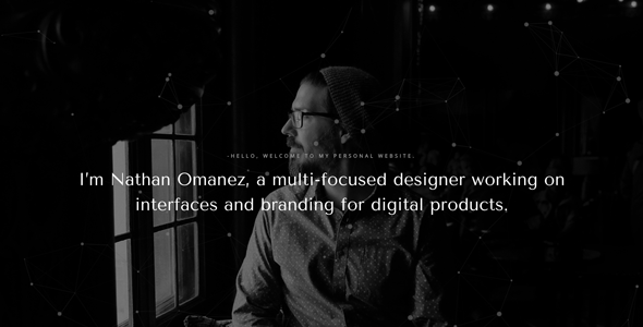 Omanez – Personal Website HTML Template