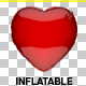 Heart Inflatable Love - GraphicRiver Item for Sale