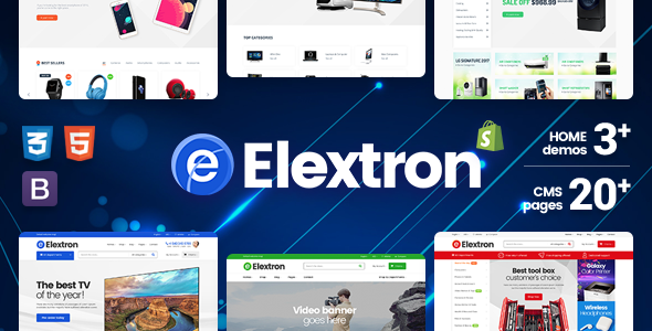 Elextron Supermarket – Electronics & Digital Store, Mobile Shop for Responsive Shopify Theme
