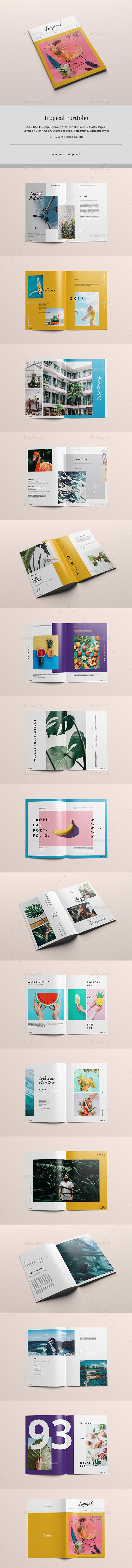 Tropical Multipurpose Portfolio - Portfolio Brochures