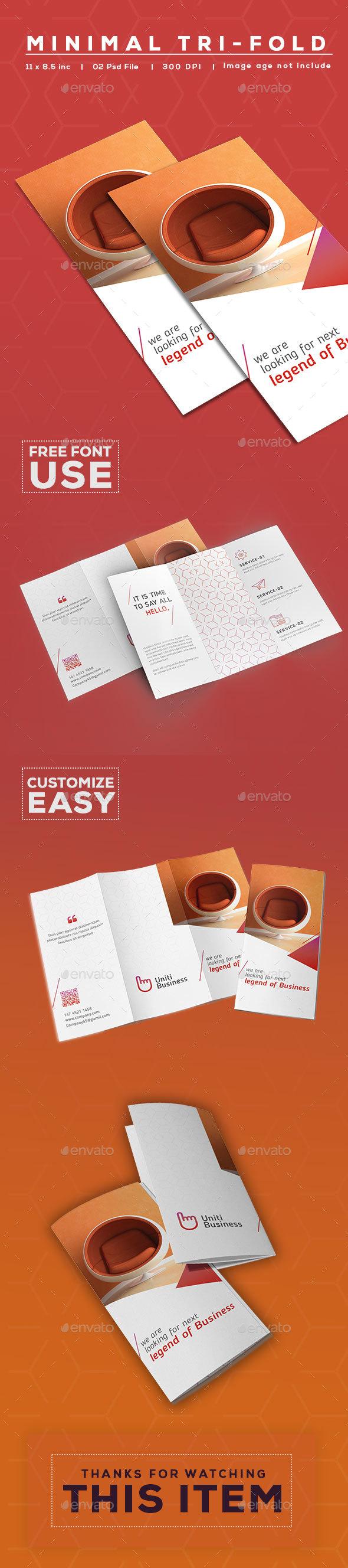 Tri-Fold - Brochures Print Templates