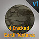 4 Cracked Earth Textures Pack