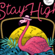 Stay High on the beach - GraphicRiver Item for Sale