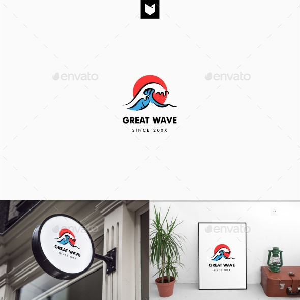 Wave Logo - Nature Logo Templates