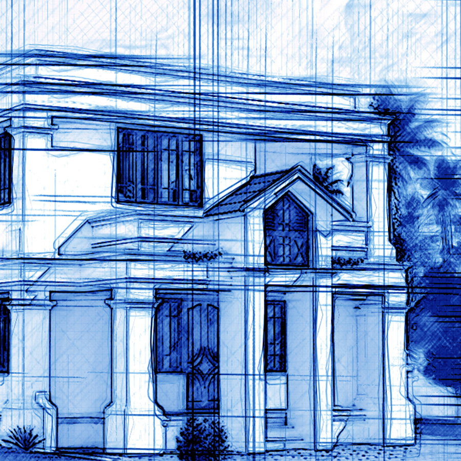 Architecture blueprint photoshop action 78 by lightdesigns preview01 malvernweather Gallery
