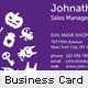 Fresh and Evil Business Card - GraphicRiver Item for Sale