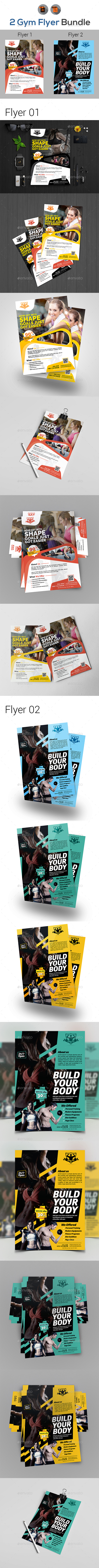 Fitness Flyers Bundle - Sports Events