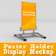 Poster Holder Display Mockup - GraphicRiver Item for Sale