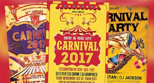 Best Carnival Flyer Templates